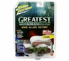 Johnny Lightning 1:64 Mijo Exclusives WWII Allied Victory Willy's MB Jeep
