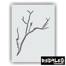 Redleg Camo LARGE 12x9 Limb branch thicket woods camouflage stencil airbrush