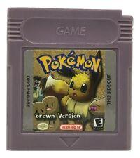 Pokemon Brown Version Game Boy Color GBC FAN TRANSLATION GAME Homebrew Hack