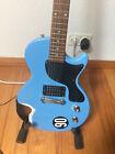Epiphone (by Gibson) Les Paul Junior - Heavy relic - pelham blue LP jr. aged for sale