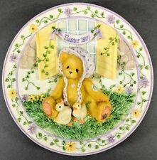 Cherished Teddies ~ 1997 Easter Plate (203009) *New*