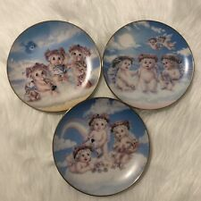 Hamilton Collection Dreamsicles Plates: The Recital, The Flying Lesson & Blossom