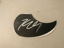 Kenny Chesney SIGNED ACOUSTIC GUITAR PICK GUARD Pickguard