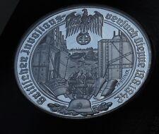 GERMANY WW2 HUGE MEDAL 1939 -1945 GREAT BRITAIN DIEPPE RAID FRANCE WWII Medaille