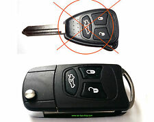 Umbau-Set auf Klappschlüssel Jeep Dodge Chrysler Schlüssel key conversation R