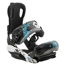 FTWO fastec BLOOM TAGLIA M (38 - 42,5) f2 Step-in snowboard binding UVP 200 € NUOVO