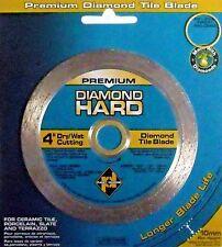 """Planet Diamond 22104020 4"""" Continuous Rim Diamond Saw Blade"""