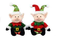 Set of 2 Plush Christmas Cheeky Elves  NEW   27158