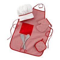 Tasty Treats 6-Piece Chef Accessory Set - Red by KidKraft