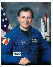 Michel A Tognini French Astronaut Signed Autograph Photo Litho