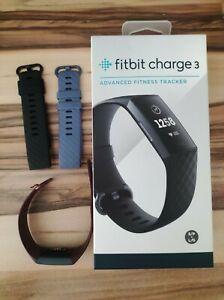 fitbit charge 3 schwarz