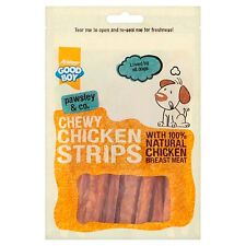 Good Boy Pawsley & Co Meat CHICKEN STRIPS Tasty Dog Healthy Natural Treats Chews