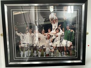 Leeds United 1972 FA Cup Winners Signed Photo