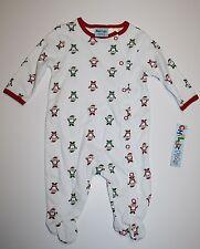 BABY CHRISTMAS SANTA SLEEPER Pajama 0-3 Months Childz Play One Piece Snaps New