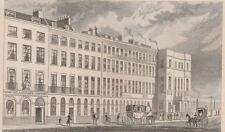1846 Six Antique Prints - London - Southwark -Blackfriars -Shoreditch =Cheapside