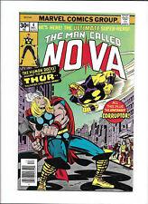 NOVA #4 [1976 NM-] THOR COVER/APP