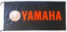 YAMAHA FLAG BLACK/RED - SIZE 150x75cm (5x2.5 ft) - BRAND NEW