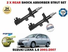 FOR SUZUKI LIANA 1.3 1.4 1.6 DDiS 2001-->ON 2X REAR LEFT + RIGHT SHOCK ABSORBER