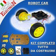 SMART ROBOT CAR CHASSIS TRACING KIT SPEED ENCODER WHEEL SHIELD MOTOR ARDUINO #09