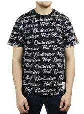 NWT Huf X Budweiser Beer Black T-shirt Mens Medium