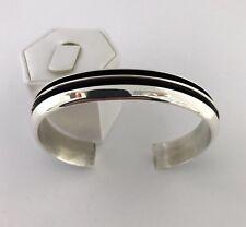 Native American sterling silver handmade Tom Hawk Cuff bracelet