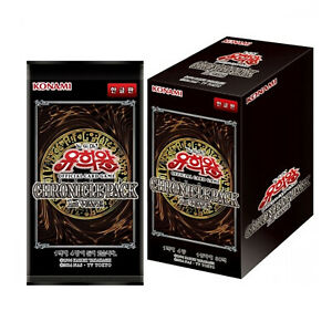 "Yugioh Cards ""Chronicle Pack 1st Wave"" Booster Box 20AP-KR / Korean Ver"