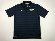 Nike Pittsburgh Panthers - Navy Dri-Fit Polo Shirt (L) - Used