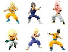 Raro SET 6 FIGURE Dragon Ball ACTION POSE Serie 02 HG Plus BANDAI Gashapon NUOVE