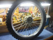 Yamaha Front Tire and Rim Package  OEM WR400F 1999-2000 Stock Original  #6432