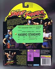 Street Fighter Dhalsim Hasbro Standard Green Tag Sample Figure 1994 MOC Clean