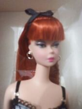 HAVE SEVERAL LINGERIE BARBIE SILKSTONE 2002 REDHEAD IN BLUE LINGERIE NRFB