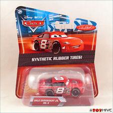 Disney Pixar Cars Synthetic Rubber Tires Dale Earnhardt Jr #8 racer by Mattel