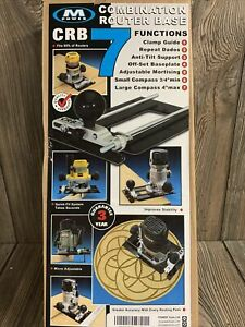 M POWER CRB 7 Combination Router Base 7 In 1 Router Jig Micro Adjustable