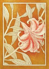 """Nancy Leslie """"Lily 1"""" Signed ltd ed Etching of flower ART ARTWORK SUBMIT OFFER"""