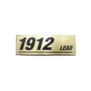 Logo Marshall 1912 Lead ( Rif: : 4205)