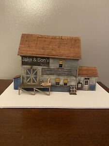 O Scale Jake and Sons Structure Kit Laser Cut