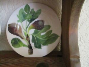 """Emma  Bridgewater  Figs  6.5"""" plate  lithographed"""