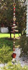 Handmade Healing Stone Meditation Suncatcher/Prism W/Swarovski Elements USA