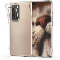 For Huawei P40 Pro P50 P30 P20 Lite Mate 40 30 20x Clear Crystal TPU Case Cover