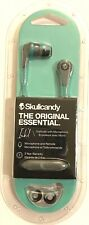Skullcandy INK'D In-Ear Earbud/Headphone w/Mic & Remote -Grey/Mint #:S2IKJY-528