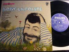 """BOBY LAPOINTE - 25 cm / 10"""" - Philips Livre-Disque"""