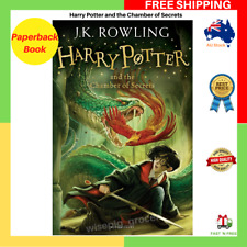 Harry Potter And The Chamber Of Secrets Paperback Book By J.K. Rowling FREE SHIP