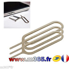 lots 3 extracteur sim OUTILS CLE EXTRACTEUR CARTE SIM IPHONE SAMSUNG NOKIA