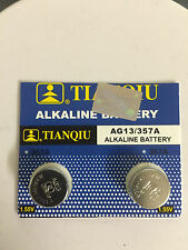 New 2X LR44 AG13  357 303 A76 SR44 L1154 357A Cell Button Battery exp 2020 in US