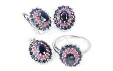 Handmade Fine Diamond and Gemstone Jewellery Set
