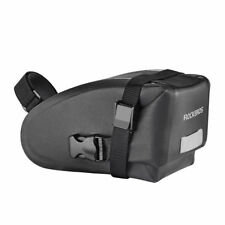 RockBros Saddle Rear Bag 100 Waterproof Cycling Bike Tail Seat Bag Black