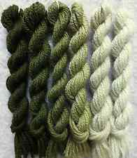 #650 family Olive Green Paternayan Persian Needlepoint Wool - 3ply - 48yd total