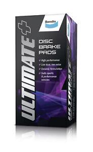 Bendix Ultimate+ Brake Pad Set Front DB1395 ULT+ fits Toyota Soarer 2.5 Turbo...