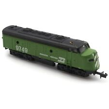 Non Working Vintage N Scale Gauge Bachmann Burlington Northern 9749 Locomotive