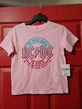 Girls AC/DC Shirt Size 9/10